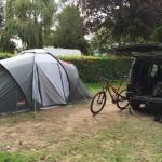 De kampeerplek